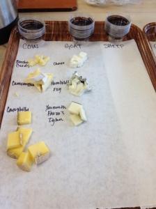 Vertical Cheese Tasting