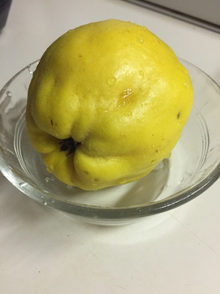 washed quince